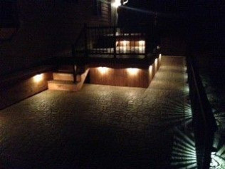 Night Time Decking