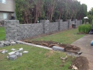 Custom Masonry Wall